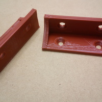 Small Shelf bracket / brace 3D Printing 19450