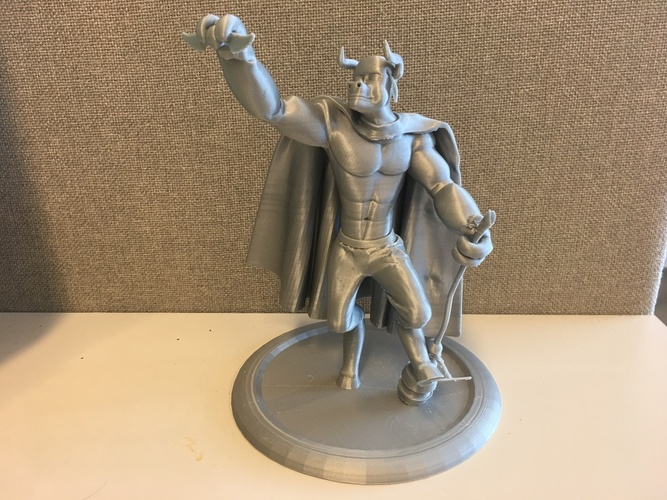 Mr. Hærry Tauren Pose 1 3D Print 19615