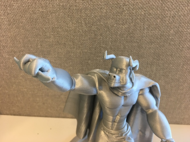 Mr. Hærry Tauren Pose 1 3D Print 19619