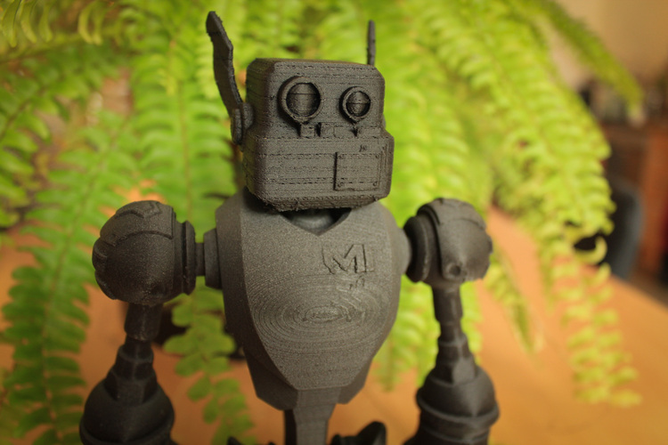 Super deformed bot 3D Print 1963