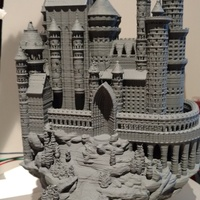 Small Medieval Castle 3D Printing 19646