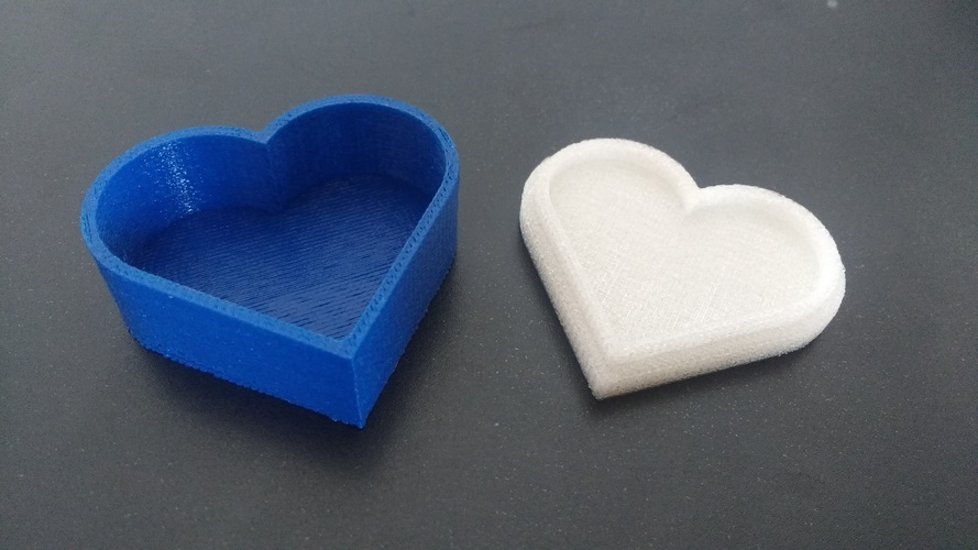 Heart jewelry box 3D Print 19661