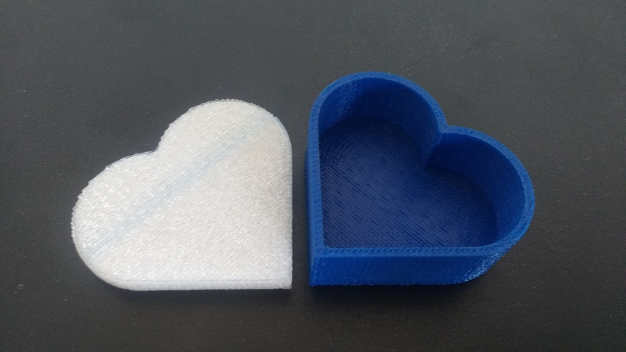 Heart jewelry box 3D Print 19662