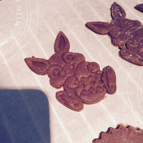 Easter Bunny Cookie Cutter 3D Print 1967