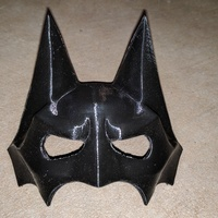 Small BatCat Mask 3D Printing 19733