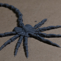 Small Articulated Facehugger 3D Printing 19740