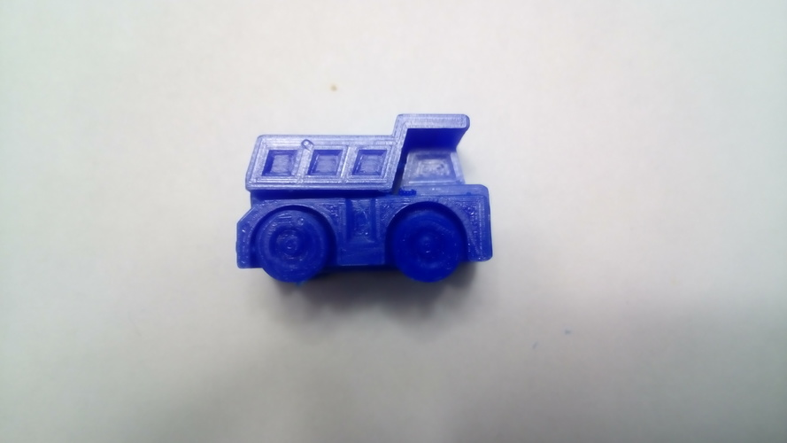 Surprise Egg #1 - Tiny Haul Truck 3D Print 19798