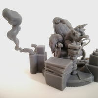 Small RENARD(Clementine) 3D Printing 19833