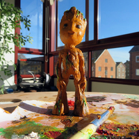 Small I am Baby Groot 3D Printing 19857