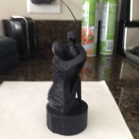 Small Mother's Day Sculpture  3D Printing 19860