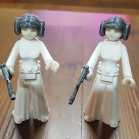 Small Princess leia 3D Printing 19934