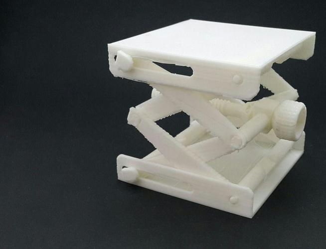 Platform Jack [Fully Assembled, No Supports] 3D Print 19996