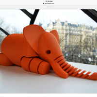 Small Elephant 3D Printing 20012