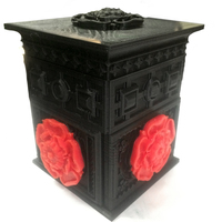Small The Tudor Rose Box (with secret lock) 3D Printing 2003