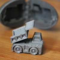 Small Surprise Egg #1 - Tiny Haul Truck 3D Printing 20165
