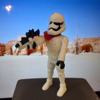 Small Stormtrooper Officer 2.0 3D Printing 20242