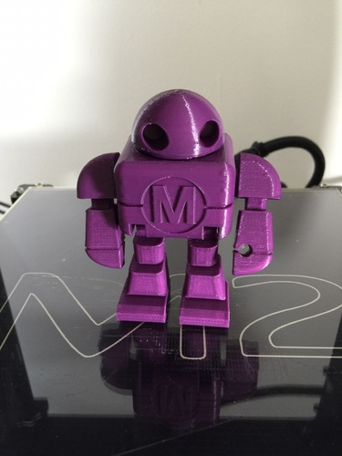 BIG Maker Faire Robot Action Figure 3D Print 2025