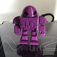Small BIG Maker Faire Robot Action Figure 3D Printing 2025