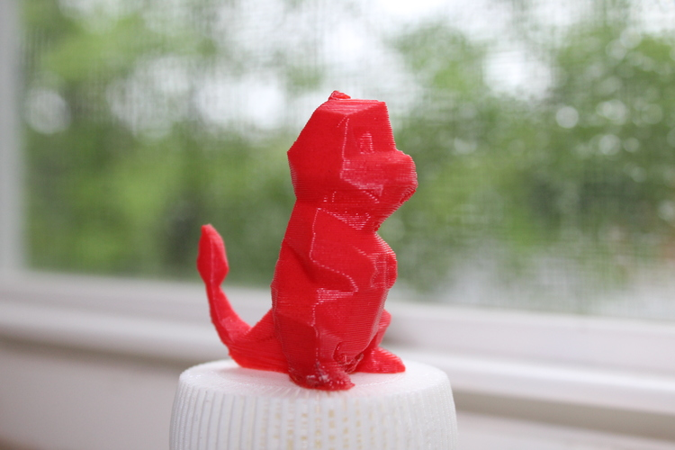 Low-Poly Charmander - Multi and Dual Extrusion version 3D Print 20310