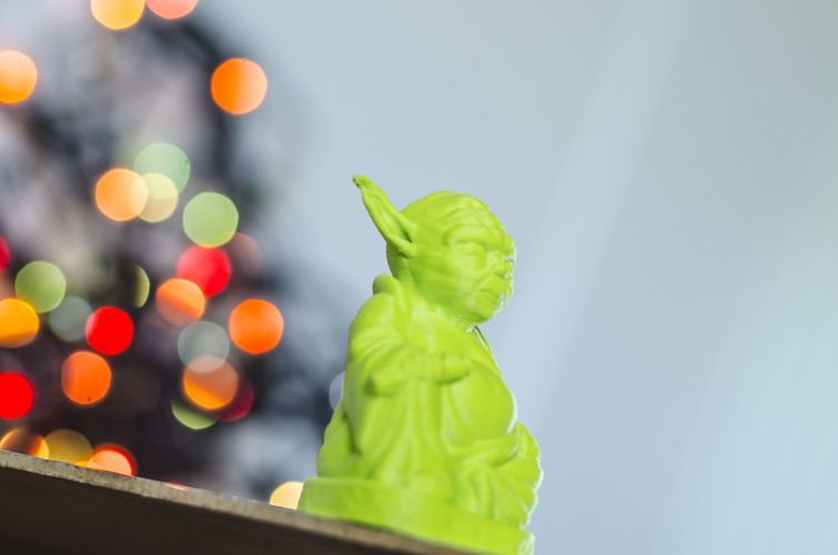 Improved Yoda Buddha w/ Lightsaber  3D Print 20432