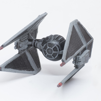 Small Tie-Interceptor 3D Printing 20435