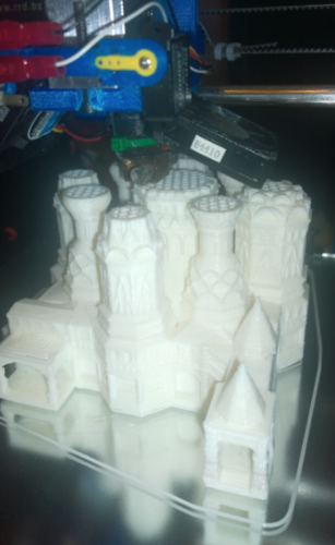 St. Basil's Cathedral 3D Print 2050