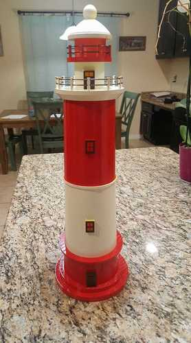 Round Base Lighthouse Model 3D Print 20601