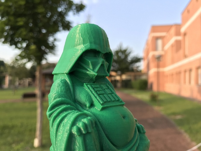 Darth Vader Buddha with saber 3D Print 20607