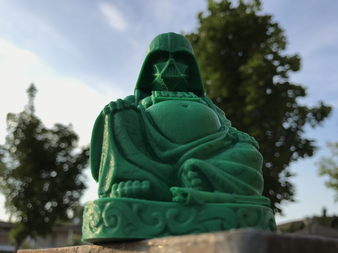 Darth Vader Buddha with saber 3D Print 20608
