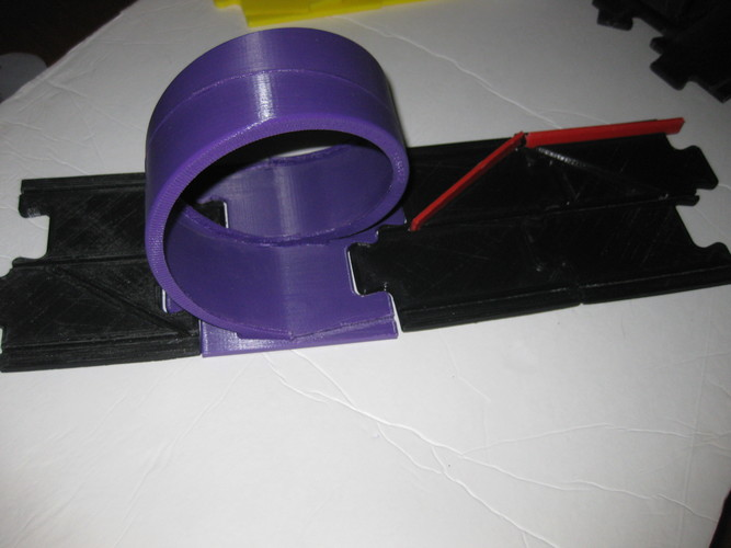 Pitch Car Track-LH 3D Print 20623