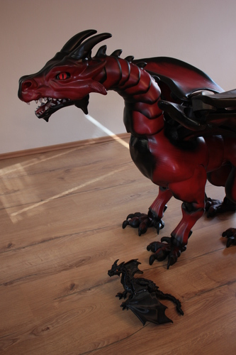 """Braq""  jointed dragon 3D Print 20634"