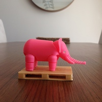 Small Elephant 3D Printing 20677