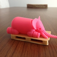 Small Elephant 3D Printing 20678