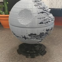 Small Star Wars Death Star 3D Printing 20679