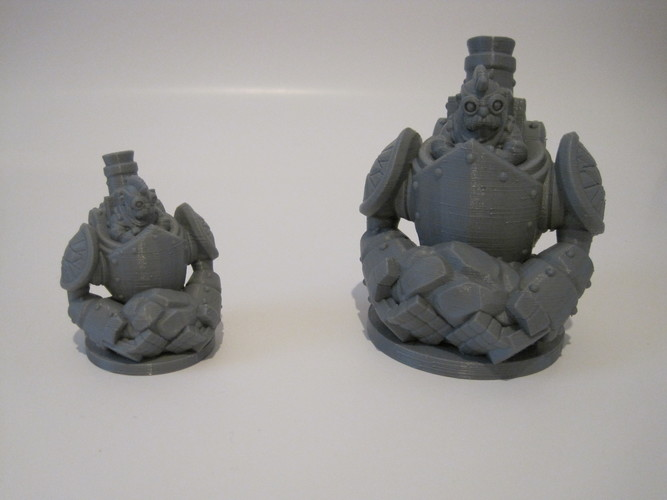 Dwarfclan Stonethrower (18mm scale) 3D Print 20706