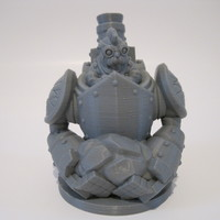 Small Dwarfclan Stonethrower (18mm scale) 3D Printing 20707