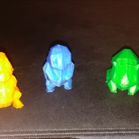 Small Low Poly Pokemon  3D Printing 20748