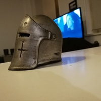 Small For Honor Warden Helm - Knight 3D Printing 20764
