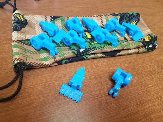 The Farming Game 3D Pieces 3D Print 20864