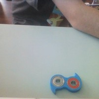 Small fidget spinner for people with short fingers 3D Printing 20868
