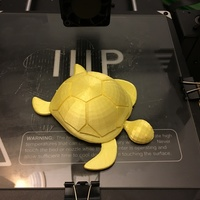 Small Turtle with moving legs 3D Printing 20955