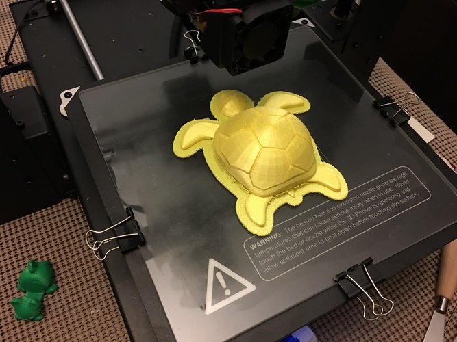 Turtle with moving legs 3D Print 20956