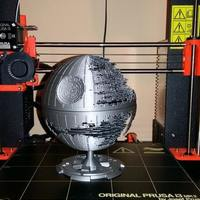 Small Star Wars Death Star 3D Printing 21037
