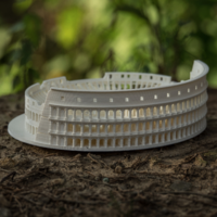 Small Roman Colosseum  3D Printing 2104