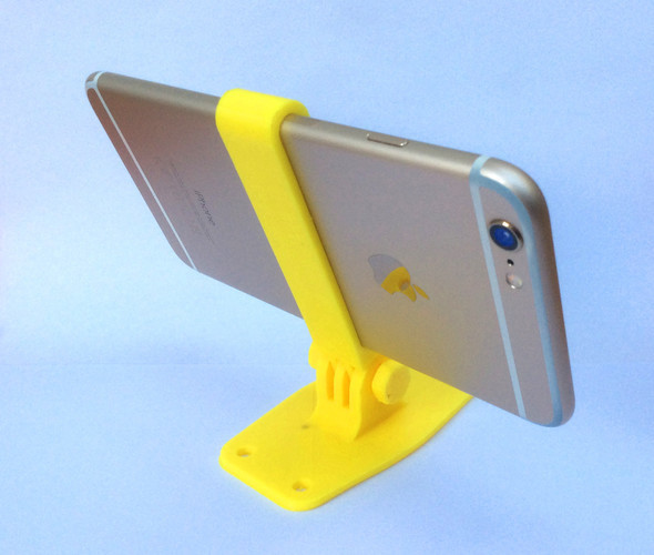 iPhone Camera Mount for iPhone 6/6S/7 (+Plus) 3D Print 21043