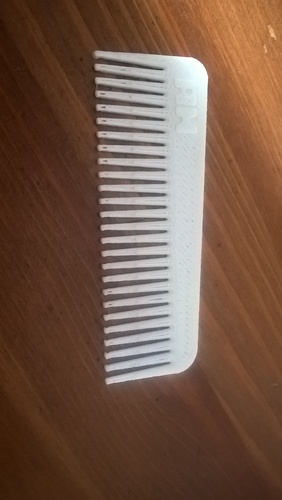 Man/ woman / Horse Hair Comb 3D Print 21165