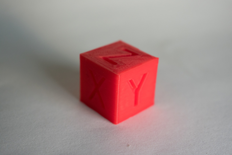 XYZ 20mm Calibration Cube 3D Print 21171