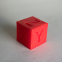 Small XYZ 20mm Calibration Cube 3D Printing 21171