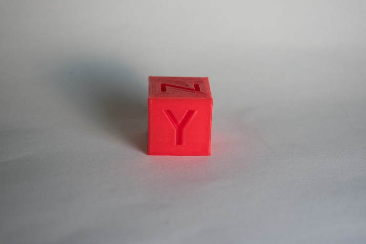 XYZ 20mm Calibration Cube 3D Print 21173