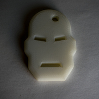 Small IronMan Keychain 3D Printing 21184